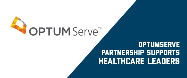 OptumServe logo and text OptumServe Partnership Supports Healthcare Leaders