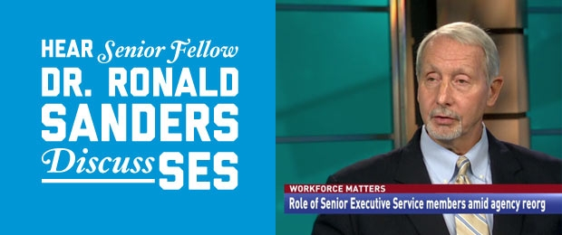 Dr. Ronald Sanders appeared on Government Matters to discuss the SES