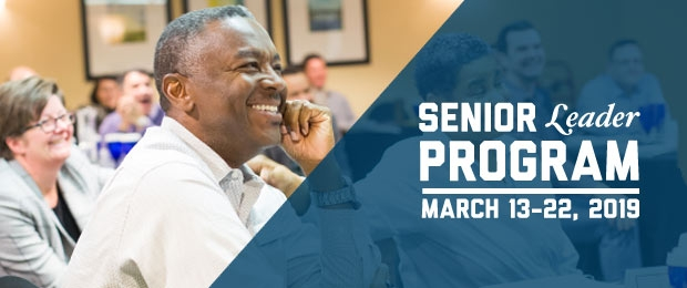 GW-CEPL Senior Leader Program March 13-22, 2019