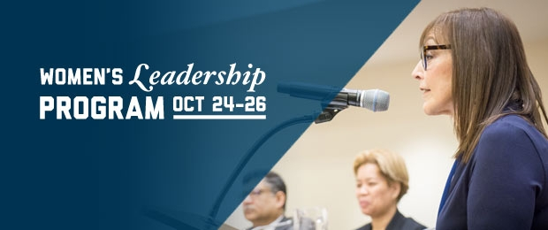 GW-CEPL Women's Leadership Program: Strategies for Accelerating Impact, Influence and Advancement Oct 24-26